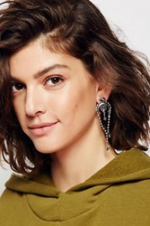 Free People Womens Ball Chain Ear Bolo