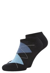 Burlington 2 Pack Socks Dark Navy Black