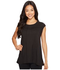 Lucy Effortless Ease Short Sleeve Black Women's Clothing