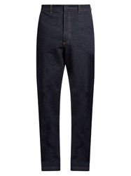 Raey Tailored Denim Trousers Indigo