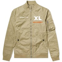Mhi Maharishi X Xl Recordings Flight Jacket Green