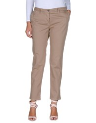 Dek'her Casual Pants Light Brown