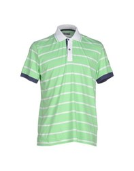 Cooperativa Pescatori Posillipo Topwear Polo Shirts Men Light Green