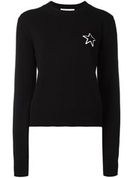Givenchy Star Patch Knitted Jumper Black