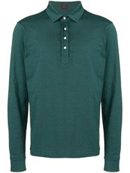 Massimo Piombo Mp Long Sleeve Polo Shirt Green