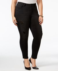 American Rag Trendy Plus Size Stellar Wash Ripped Jeans Only At Macy's