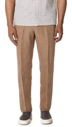 Tomorrowland Tropical Easy Trousers Beige