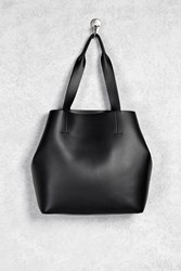 Forever 21 Oversized Faux Leather Tote