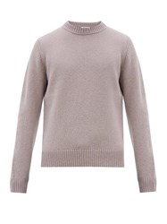 Acne Studios Kai Crew Neck Wool Sweater Purple