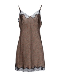 X's Milano Short Dresses Grey