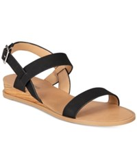 Call It Spring Richichi Flat Sandals Women's Shoes Black