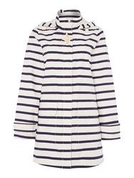 Joules Waterproof Hooded Jacket White