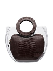 Staud Frida Tote Bag Brown