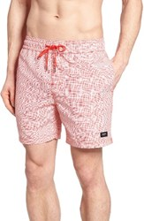 Jack Spade Men's Underwater Graph Swim Trunks