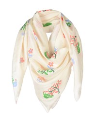 Thierry Colson Scarves Ivory