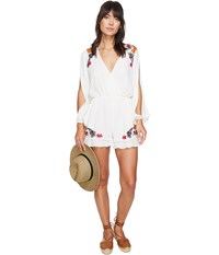 Lovers Friends Adriana Romper Ivory Women's Jumpsuit And Rompers One Piece White