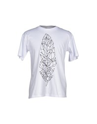 Hilton Topwear T Shirts Men White