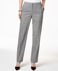Tommy Hilfiger Classic Houndstooth Trousers Black White