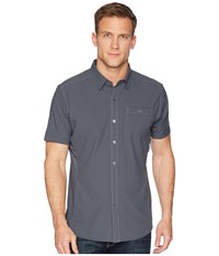 Kuhl Bandit Short Sleeve Carbon Short Sleeve Button Up Gray