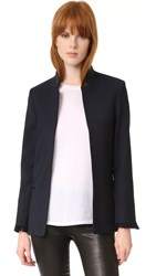 Zadig And Voltaire Volly Fringed Cuff Blazer Ink