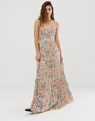 Baandsh Rosy Ditsy Floral Maxi Dress Multi