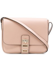 Tila March Manon Postier Crossbody Bag Nude And Neutrals