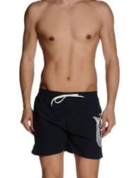 Cooperativa Pescatori Posillipo Swimming Trunks Dark Blue