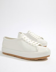 Melissa Lace Up Trainers White