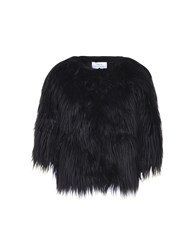 Jolie By Edward Spiers Coats And Jackets Faux Furs Black