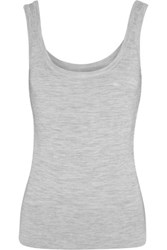 Michael Kors Collection Cashmere Tank Gray