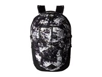 The North Face Women's Borealis Diamond Life Print Asphalt Grey Backpack Bags Black