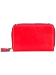 Anya Hindmarch 'Circus' Double Wallet Women Leather One Size Red