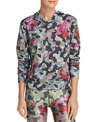 Terez Camo Hooded Sweatshirt Multi