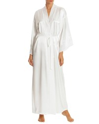 Jonquil Sutton Long Satin Robe Ivory