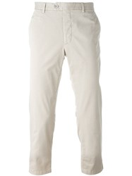 Fay Chino Trousers Nude And Neutrals