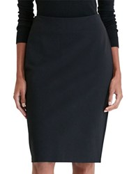 Lauren Ralph Lauren Ponte Pencil Skirt Black