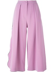 Roksanda Ilincic Roksanda 'Towan' Culottes Pink And Purple