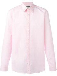 Gucci Poplin Button Down Shirt Pink Purple
