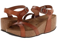 Eric Michael Veda Brown Women's Wedge Shoes