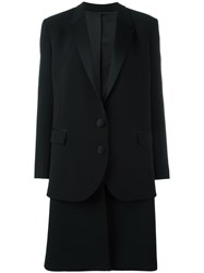 Neil Barrett Dropped Shoulder Coats Black
