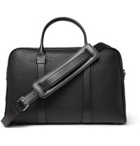 Tom Ford Buckley Full Grain Leather Briefcase Black