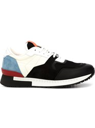 Givenchy Colour Block Sneakers Black