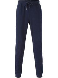 Michael Kors Tapered Track Pants Blue