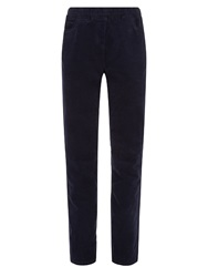 Dash Cord Classic Jegging Petite Navy