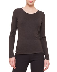 Akris Cashmere Blend Long Sleeve Top