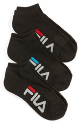 Fila Women's 3 Pack Logo Ankle Socks