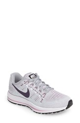 Nike Women's Air Zoom Vomero 12 Running Shoe Platinum Purple Dynasty Grey