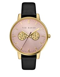 Ted Baker Liz Leather Band Watch