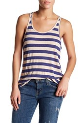 Volcom Lived In Ribbed Tank Blue