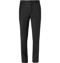 Jil Sander Wool And Cashmere Blend Trousers Black